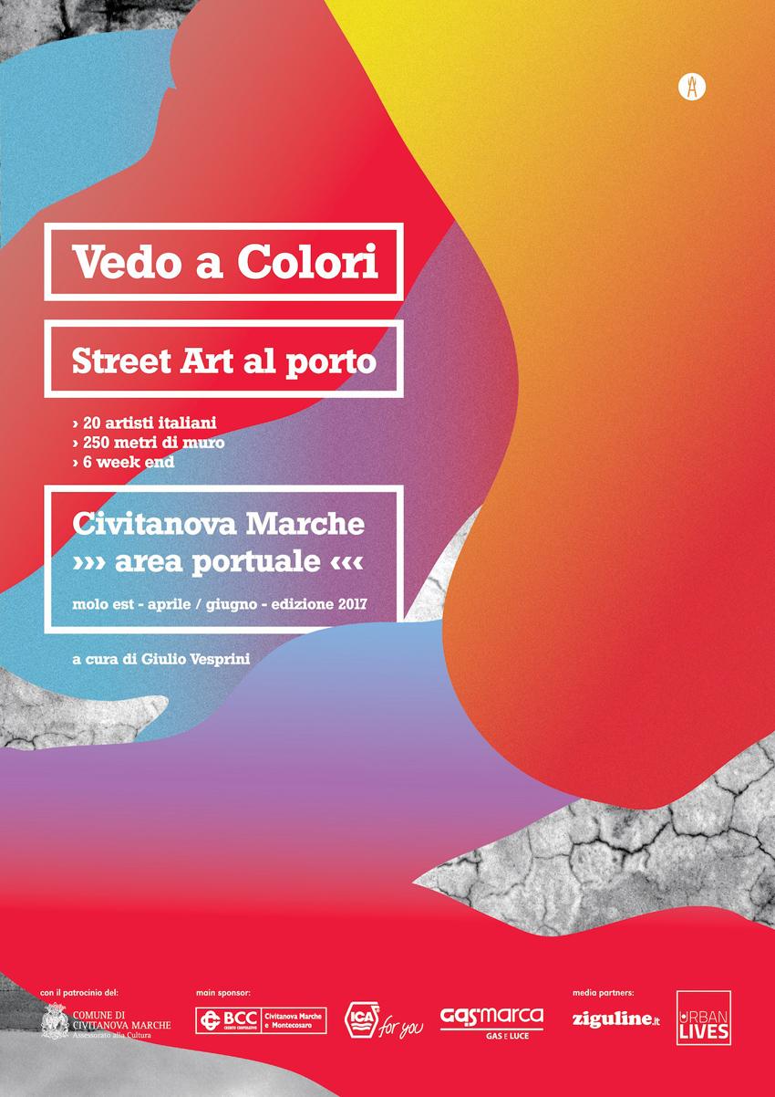 Vedo a Colori, la Street Art al porto di Civitanova Marche