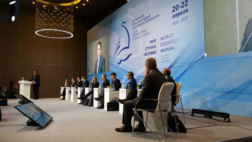 Il console Marco Ginesi referente del Forum  tra imprese ed istituzioni d'Italia e Crimea