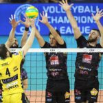 Champions League, la Lube non finisce mai di stupire: splendido 3-0 a Modena nell'andata dei Playoffs 6