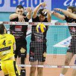 Lube grandissima dopo la battaglia con Modena: 3-2