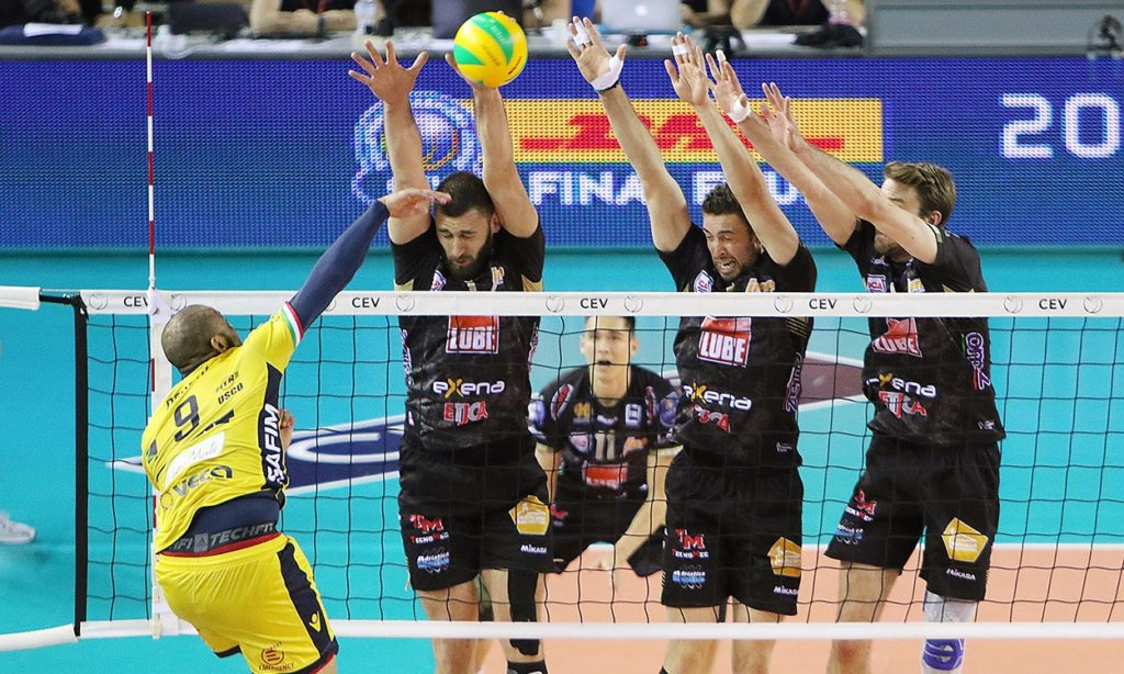 La Lube vola in Final Four di Champions League: ancora un 3-0 a Modena