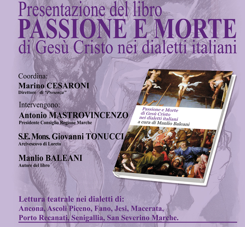 La Passione e la Morte di Gesù Cristo nei dialetti italiani