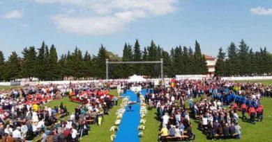 Migliaia di persone per l'ultimo saluto a Michele Scarponi, un Campione vero, orgoglio delle Marche