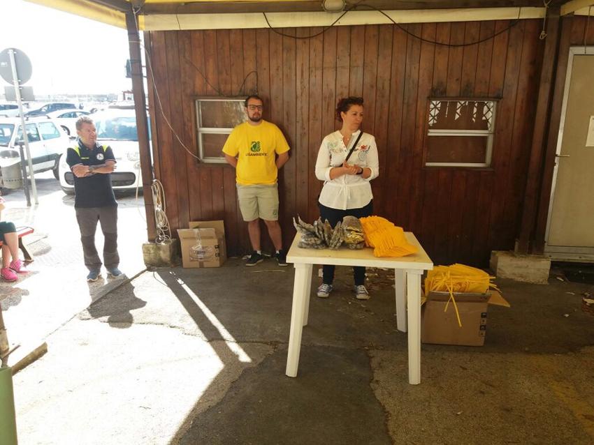 Grande successo a Numana per la tappa di Legambiente dedicata alla pulizia degli arenili e dei fondali