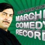 A Fermo una maratona di 12 ore di spettacolo e improvvisazione con l'attore Piero Massimo Macchini