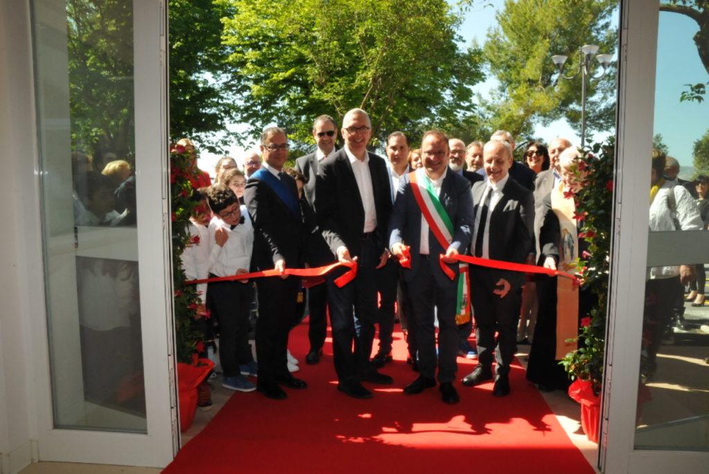 Inaugurata dal presidente Luca Ceriscioli la residenza anziani di Massignano