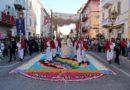 Quest'anno a Castelraimondo l'Infiorata è da record, nel segno della speranza e della rinascita post-sisma