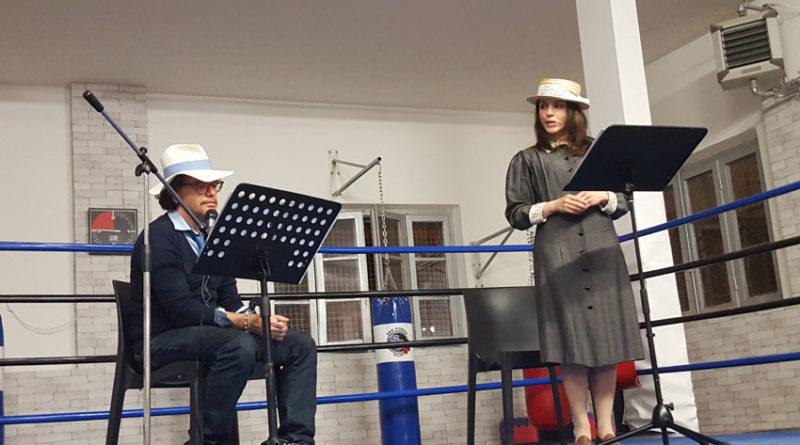 Sul ring di una palestra due artisti hanno celebrato for Piano casa palestra