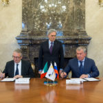 Ceriscioli ha firmato a Mosca l'accordo per la donazione di 5 milioni di euro all'ospedale di Amandola