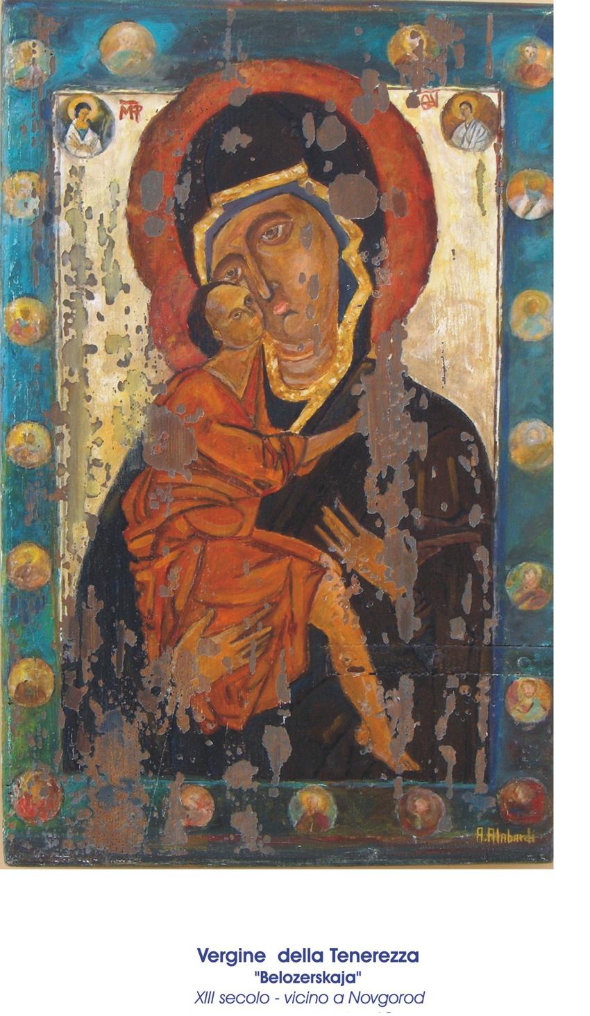 Le icone dipinte sugli scuri delle finestre di Aurelio Alabardi in mostra a Sirolo