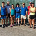 I giovani martellisti in raduno nel campo di atletica di Fermo
