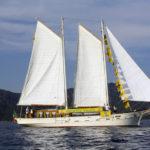 La Goletta Verde arriva nelle Marche per il monitoraggio dell'acqua del mare Adriatico