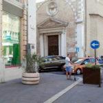 Più sicurezza nel centro di Ancona: sistemate barriere anti-terrorismo – fisse e mobili – nei punti strategici di Corso Garibaldi e Piazza Roma