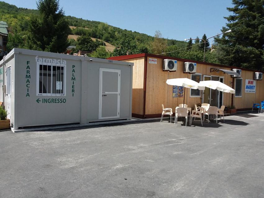Inaugurate a Fiastra, ad un anno dal terremoto, le sedi provvisorie di otto attività commerciali