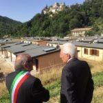 Il Presidente Mattarella è tornato nelle zone colpite un anno fa dal terremoto