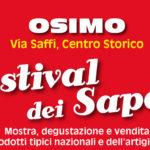 Dal 15 al 18 settembre torna ad Osimo il Festival dei sapori