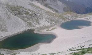 """E' scomparso Pilato, il """"lago con gli occhiali"""" dei Monti Sibillini"""