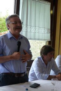 """Il sindaco Ricci dopo lo spaventoso incendio sul San Bartolo: """"Il peggio è passato,ora occorre concentrarsi sulle priorità"""""""