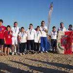 Trofeo Coni Kinder+sport, a Senigallia nel beach bocce trionfo della Puglia, Marche quarte