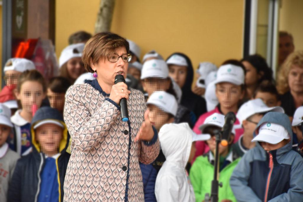 Inaugurata dal sottosegretario Elena Boschi e dal commissario straordinario Paola De Micheli la nuova scuola di Arquata del Tronto