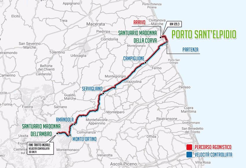 Porto Sant'Elpidio, Ambro e Corva: tutti in sella alla Granfondo del Fermano