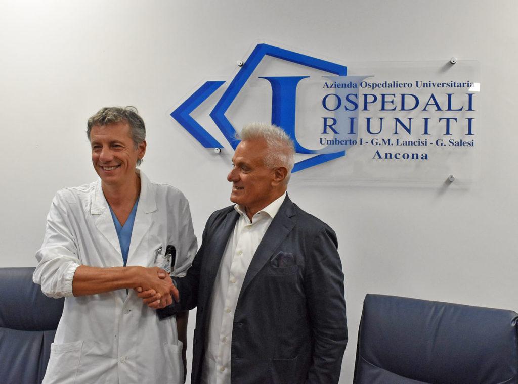 Valentino Rossi operato nella notte ad Ancona: intervento perfettamente riuscito