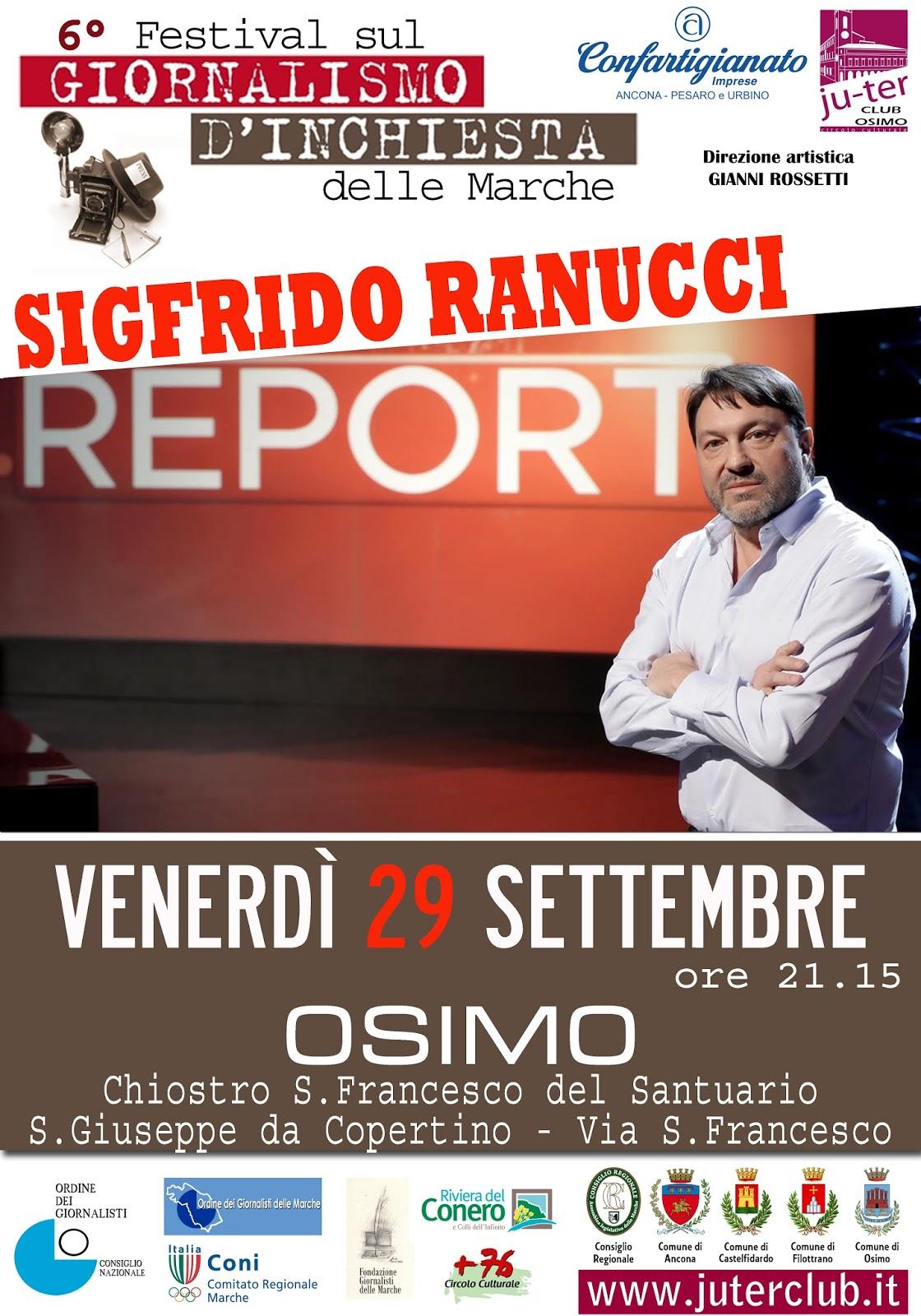 Dal 24 al 30 settembre nelle Marche c'è il Festival del giornalismo d'inchiesta