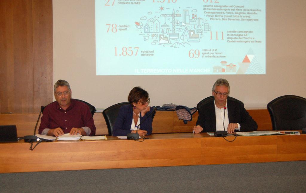 Il commissario straordinario De Micheli incontra i sindaci dei Comuni del cratere per accelerare la ricostruzione post sisma