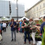 Taglio del nastro a Pesaro, con tante novità, per la festa dei fiori