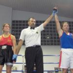 Ragazze indiscusse protagoniste a Fermo in una bella serata di boxe