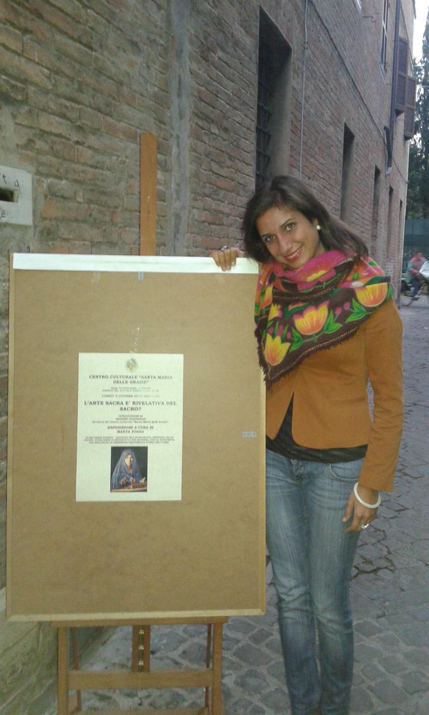 Una grande lezione di Marta Fossa sull'arte del sacro al Centro culturale Santa Maria delle Grazie di Pesaro