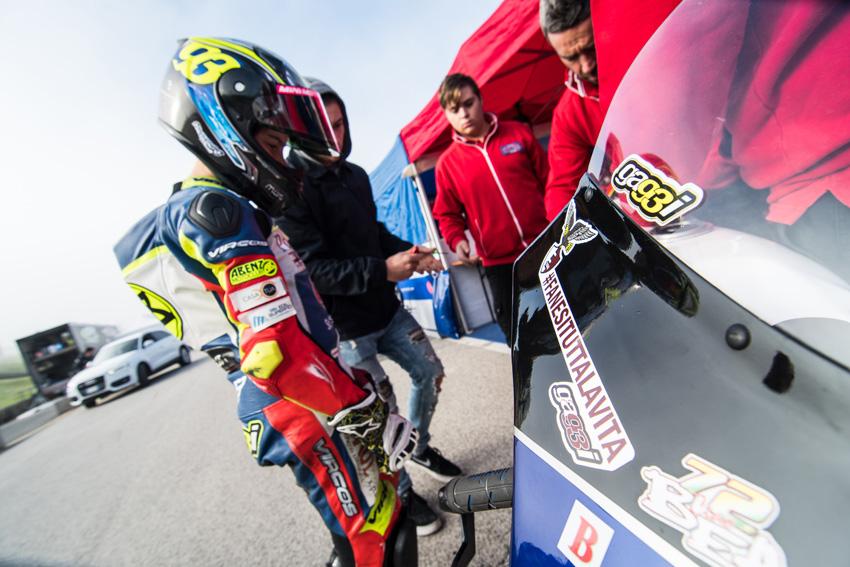 A Vallelunga Marco Gaggi va all'assalto del terzo posto nella classifica piloti