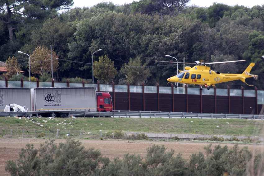 Tragico incidente tra Marina di Montemarciano e Senigallia: autostrada bloccata per alcune ore