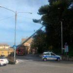 Numerosi interventi dei vigili del fuoco per il forte vento che ha colpito la provincia di Ancona