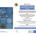 Ancona, lunedì al Ridotto delle Muse incontro con Francesco Caringella