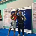 Nadia Flalhi del Boxing Team Ruffini ha confermato a Pompei tutte le sue qualità