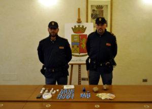 Operazione antidroga della Polizia a Pesaro, arrestato: arrestato un albanese