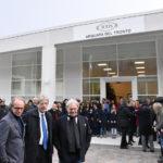 Inaugurata ad Arquata del Tronto dal presidente Gentiloni la nuova fabbrica della Tod's