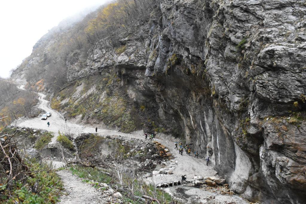La montagna torna a vivere, inaugurato il recuperato percorso delle Gole dell'Infernaccio