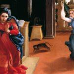 A Recanati Lorenzo Lotto dialoga con Giacomo Leopardi