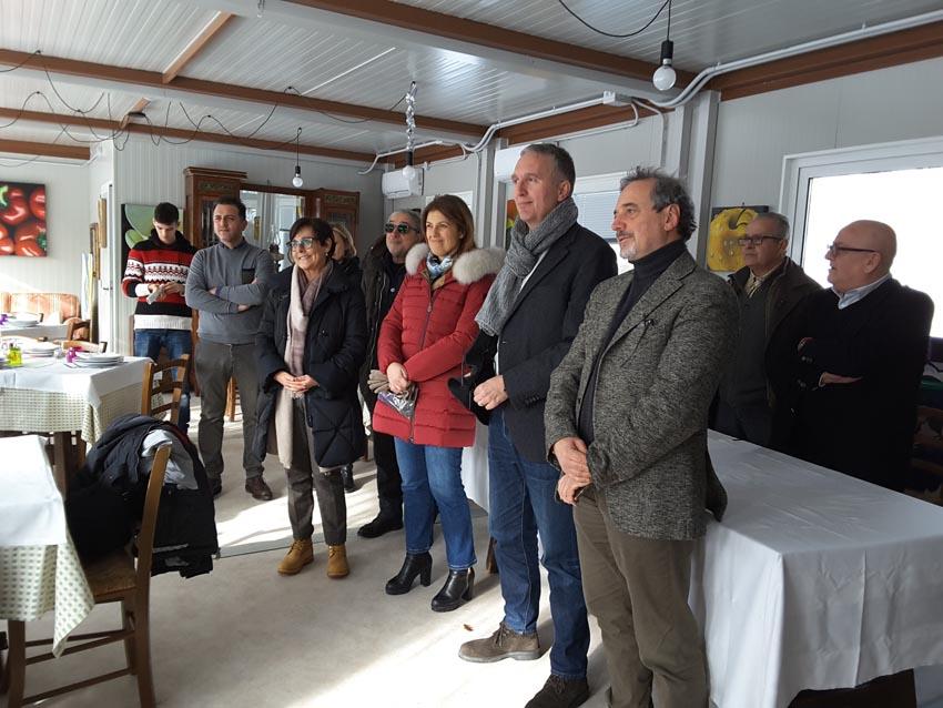 """Anche Montemonaco prova a ripartire dopo il sisma: inaugurata la struttura ricettiva delocalizzata la """"Cittadella"""""""