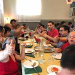 """Un """"tavolo socievole"""" a Spinetoli per festeggiare i due anni di vita della Locanda del Terzo Settore"""