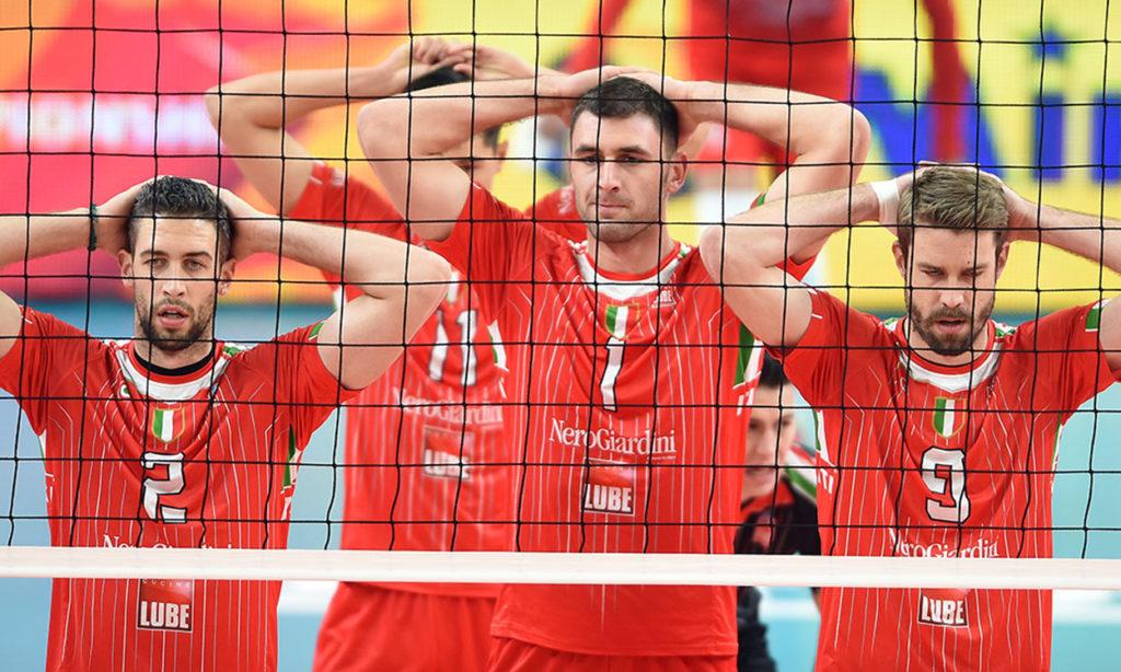 La Lube alla terza vittoria (3-0 al Teheran) conferma la vetta del girone: in semifinale c'è il Belchatow