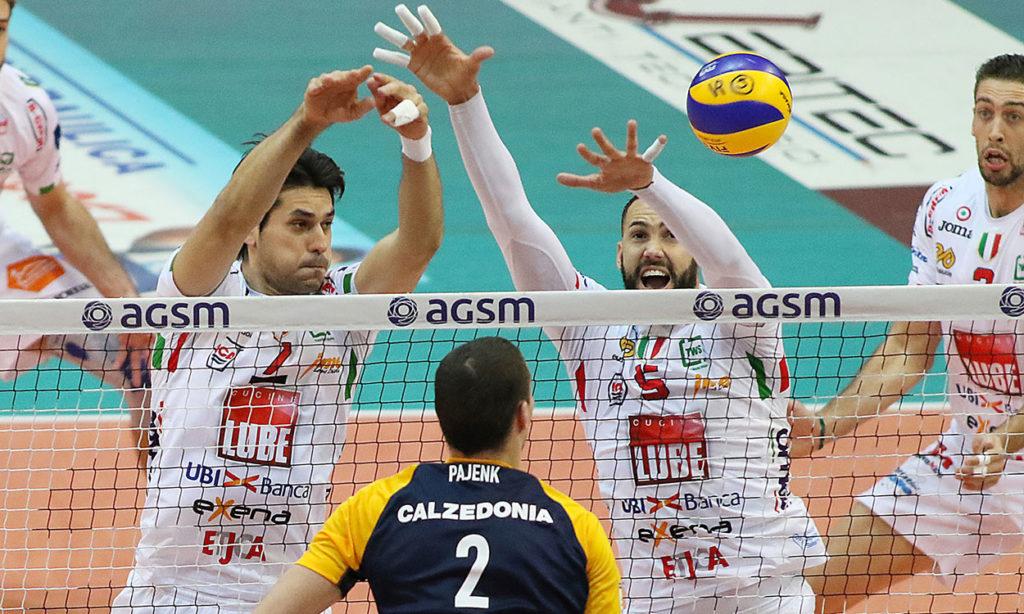Una grande Lube anche a Verona: Calzedonia ko in 3 set