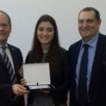 """Ubi Banca premia la studentessa maceratese Martina Scauda vincitrice del concorso nazionale """"I Fuoriclasse della scuola"""""""