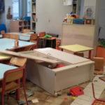 Vandali in azione nella notte alla scuola Tombari di Ancona