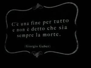 Al teatro Rossini di Pesaro un eccezionale omaggio a Giorgio Gaber ed Enzo Jannacci