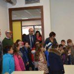 Nella nuova scuola di Pieve Torina ha suonato la prima campanella