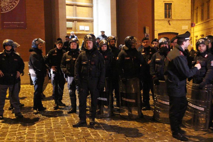 Giovedì sera era stata bloccata una manifestazione di Forza Nuova
