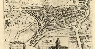 Lungo le mura di Macerata, città con una tradizione laica e risorgimentale, che ha saputo gettare ponti verso Oriente